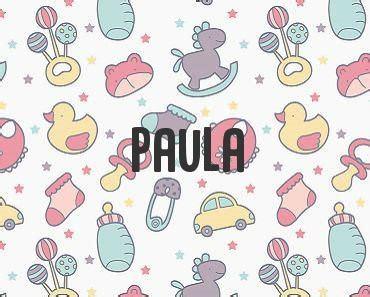 Significado de Paula   NombresySignificados.com