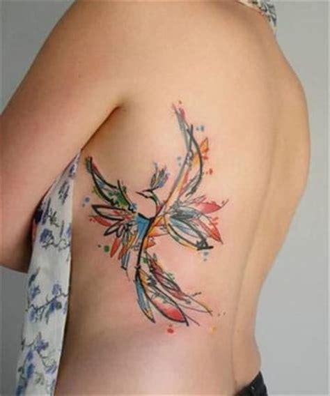 Significado de tatuajes de ave fenix renaciendo de cenizas