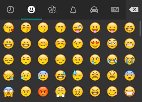 Significado de todos los emoticonos de WhatsApp   TECH