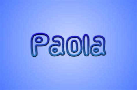 Significado del nombre Paola   TODOS LOS DETALLES!!