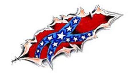 Significado tatuaje bandera confederada, bandera rebelde ...