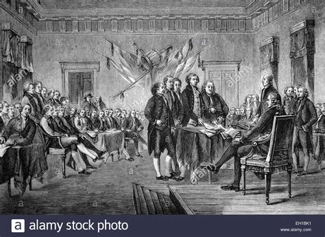 Signing of the Declaration of Independence of the United ...