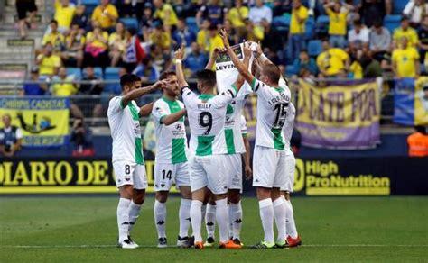 Sigue en directo el partido Cádiz Extremadura de Segunda B ...