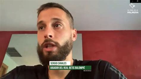 Sigue la entrevista con Canales en Alfinaldelapalmera.com ...