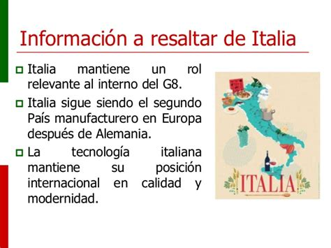 SIICEX   Oportunidades Italia 2013