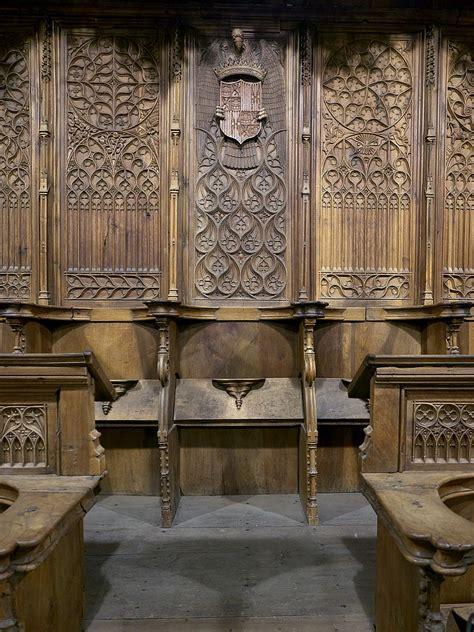 Silla abacial del coro del Monasterio de Santo Tomás ...