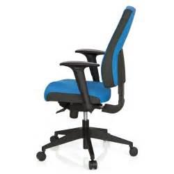 Silla de oficina ergonómica ajustable DETROIT Azul   Silla ...