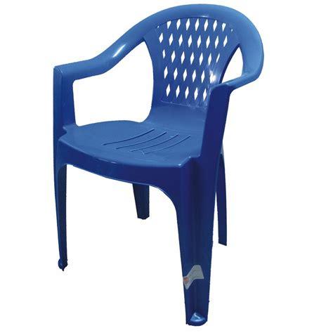 Silla De Plastico Berlín Económica Reciclada Azul   $ 125 ...