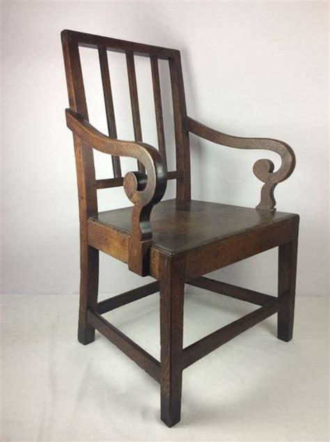 Silla estilo William Morris Arts & Crafts   Roble ...