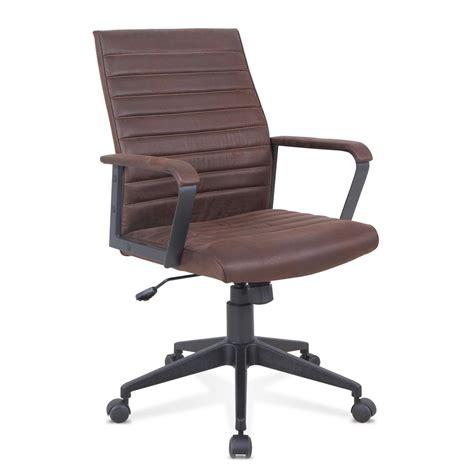 Silla oficina elegante sillón cuero artificial ergonómica ...