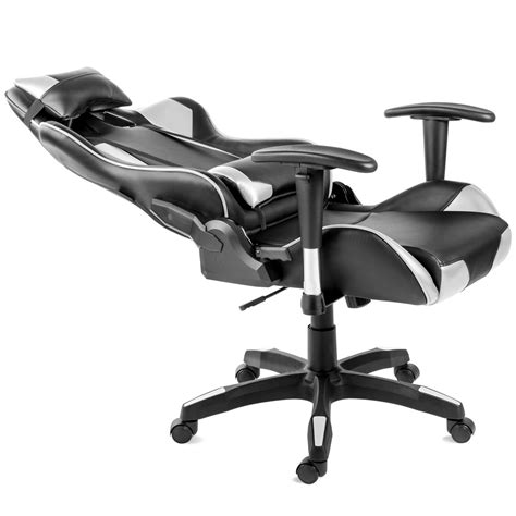 Silla oficina gaming sillon despacho escritorio reclinable ...