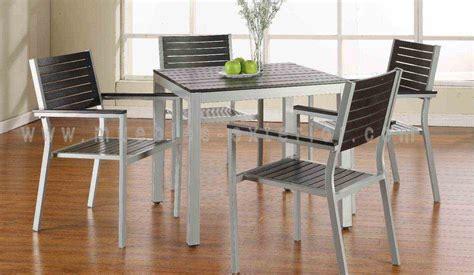 Sillas de Jardín y mesas de aluminio