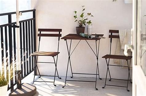 sillas y mesas de jardin ikea tarno   Balkon dekor ...