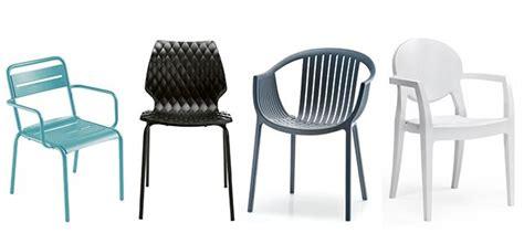 Sillas y sillones de bar en plástico para terrazas de ...