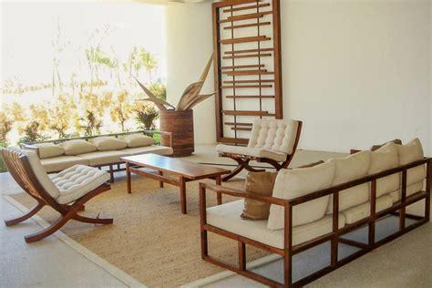 Sillones Para Hoteles Jardin Playa Exterior Madera Parota ...