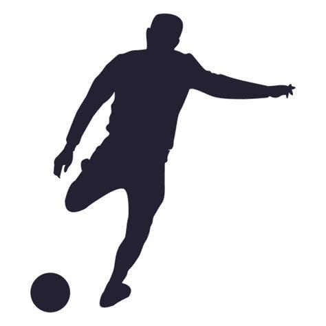 Silueta jugador de fútbol 1   Descargar PNG/SVG transparente