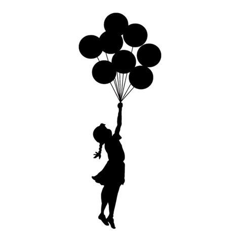 silueta niña con globo   Buscar con Google | Silueta de ...