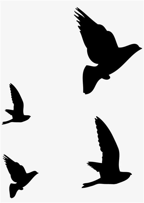 Silueta Pajaros Png   Dibujos De Pajaros Volando PNG Image ...