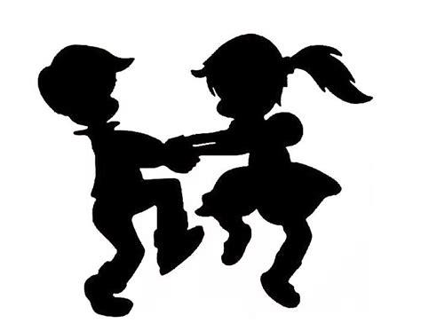 siluetas de niños   Buscar con Google | Silueta de niña ...