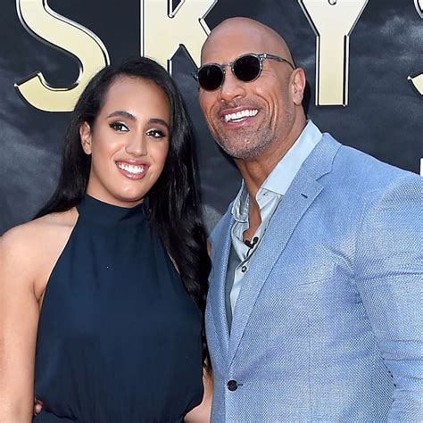 Simone Johnson, The Rock's Daughter, Is Training to Be a ...