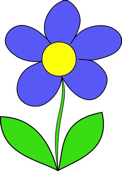 Simple Flower Clip Art at Clker.com   vector clip art ...