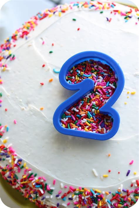 Simple Homemade Birthday Cake   littlelifeofmine.com