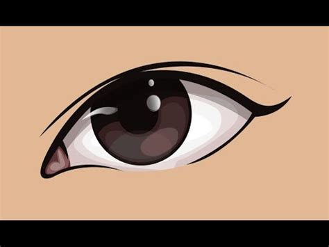 Simple Vector Eye Tutorial   YouTube