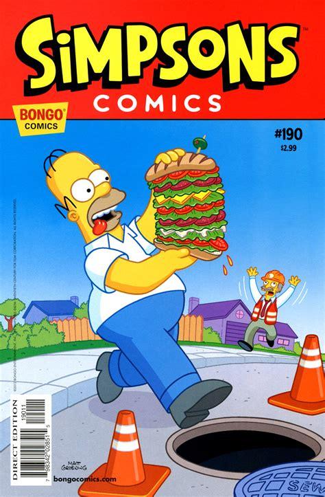 Simpsons Comics 190 | Simpson Wiki en Español | FANDOM ...