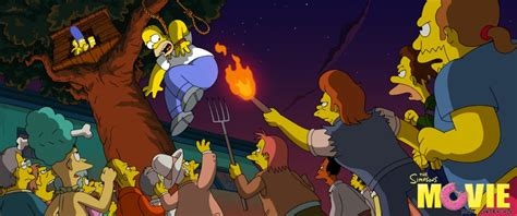 Simpsons Movie promotional images — Simpsons Crazy