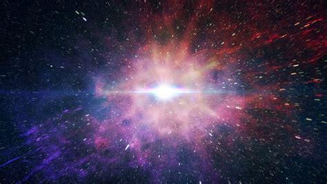 Simulation Of Big Bang Explosion. Stock Footage Video ...