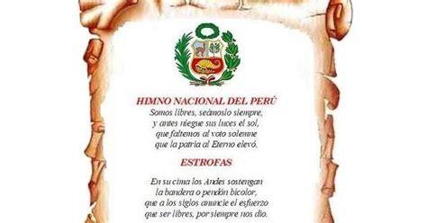 SIN SENTIDO: HIMNO NACIONAL DEL PERÚ: El sonido de la Patria