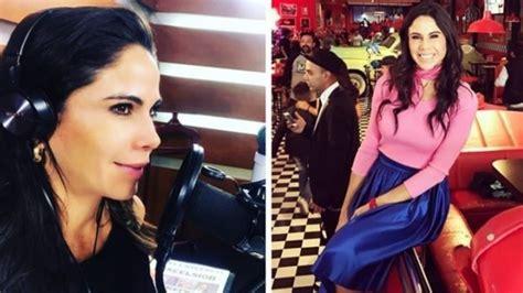 Sin  Zague  y más coqueta que nunca, Paola Rojas acalora ...