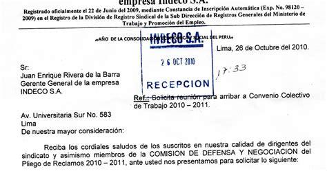 SINDICATO UNICO DE TRABAJADORES OBREROS Y EMPLEADOS DE ...