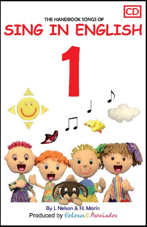 Sing in English Volume 1 Downloadable Album Book Set ...