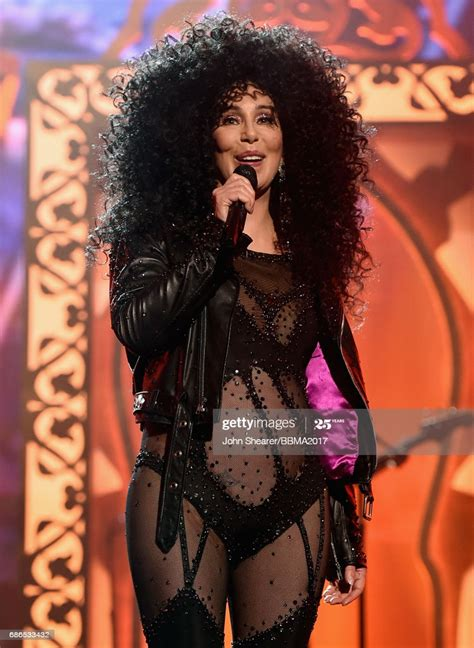 Singer Cher performs onstage during the 2017 Billboard ...