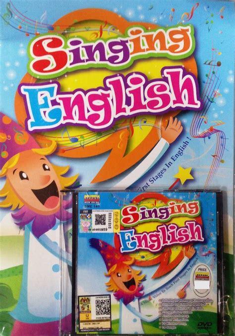 Singing English Children Songs DVD w  end 4/9/2021 12:00 AM
