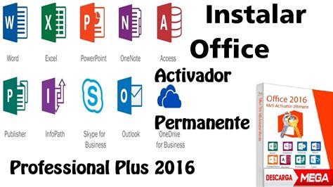 ☛Instalar Office 2016 Professional Plus[32 y 64 Bits ...