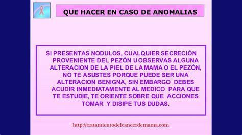 Sintomas de cancer de mamas  Tratamiento del cancer de ...
