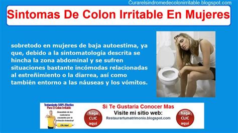 Sintomas De Colon Irritable En Mujeres | Sindrome De ...