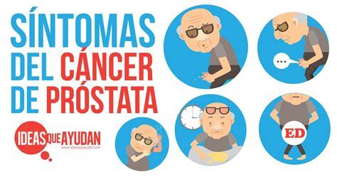 Síntomas del cáncer de próstata   Ideas Que Ayudan