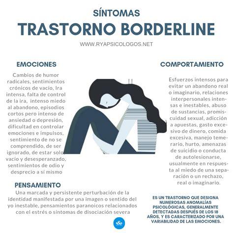 Síntomas del trastorno borderline: #borderline #psicología ...