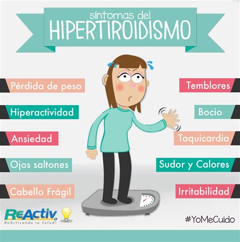 #Síntomas #Hipertiroidismo #Salud | Hipotiroidismo e ...