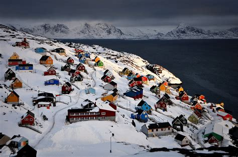 Sisimiut, Greenland | 26 Magical Places to See Snow ...