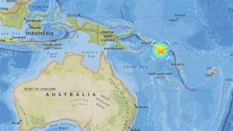 Sismo de magnitud 6,7 sacude Papúa Nueva Guinea   EL DEBATE