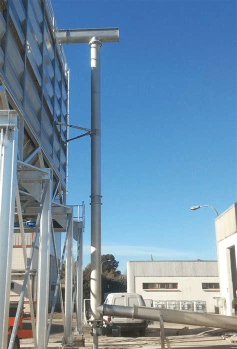 Sistema de elevación vertical | Sinfines Comes. S.A.