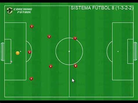 Sistema de futbol 8  1 3 2 2    YouTube