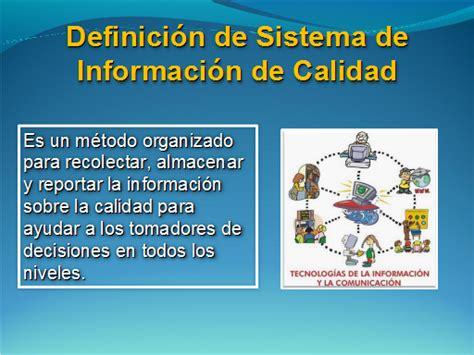 Sistema de información de calidad   Monografias.com