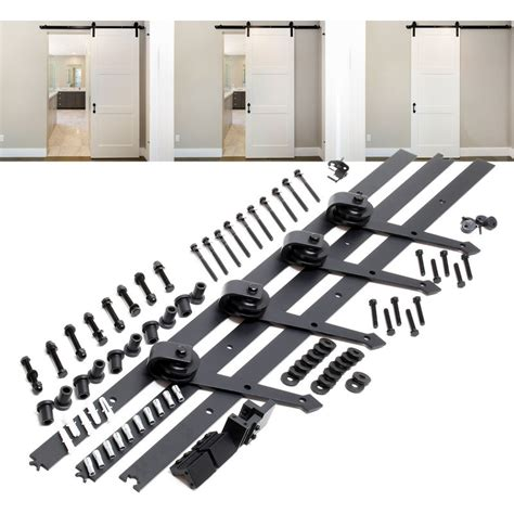 Sistema herrajes para 2 puertas correderas 366cm 8ft max ...
