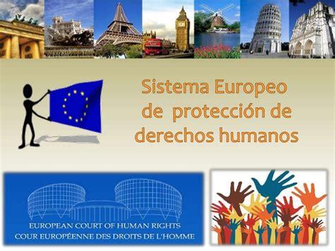 SISTEMAS EUROPEO Y AFRICANO DE PROTECCIÓN DE DERECHOS HUMANOS
