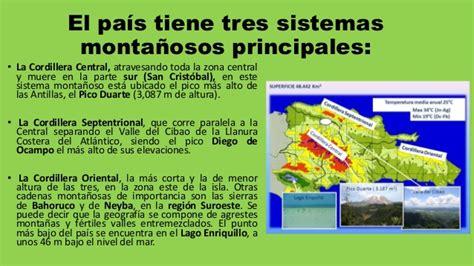 Sistemas montañoso de la república dominicana1